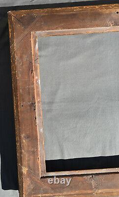 ANCIEN CADRE LOUIS XV EN bois stuqué doré XVIII/XIX ème rocaille frame