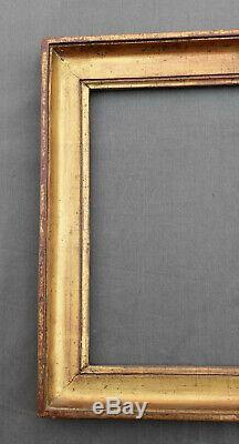 ANCIEN CADRE LOUIS XVI EN bois stuqué doré XVIII/XIX ème