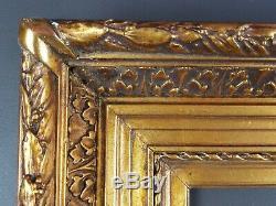 Ancien Cadre Barbizon Format 35 cm x 27 cm (5F) Doré Antique Frame Gilt Rahmen