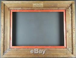 Ancien Cadre Barbizon Format 55 cm x 38 cm (10P) Doré Antique Frame Gilt Cornice