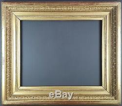 Ancien Cadre Empire Format 55 cm x 46 cm (10F) Doré Antique Frame Gilt Cornice