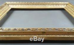 Ancien Cadre Format 40 cm x 30 cm Doré Antique Frame Gilt Old Cornice Rahmen