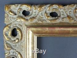 Ancien Cadre Format 43 cm x 36 cm Doré Antique Frame Gilt Cornice Rahmen