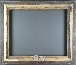 Ancien Cadre Format 50 cm x 40 cm Doré Antique Frame Gilt Old Cornice Rahmen