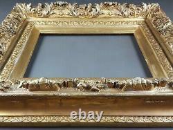 Ancien Cadre Second Empire Format 41 / 42 cm x 30 / 31 cm Antique Frame Rahmen