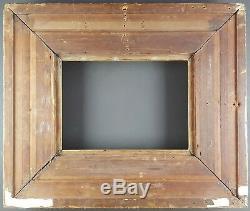 Ancien Cadre Style Louis XIV Format 33 cm x 24 cm (4F) Doré Antique Frame Gilt