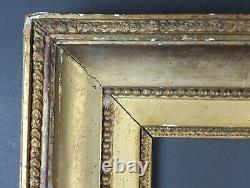 Ancien Cadre XIXe Style Louis XVI Format 32 cm x 25 / 26 cm Antique Frame Old