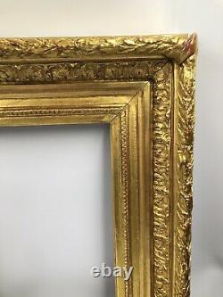 Ancien Cadre à clés doré Style LOUIS XVI Barbizon milieu XIXe 19TH FRAME 5F