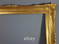Ancien Cadre à clés dorure d'origine St. Louis XV 76x61 feuillure 61x46,4 cm 116