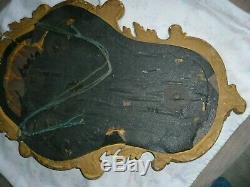 Ancien christ cadre bois doré Dieppe