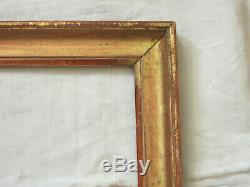 Beau CADRE en bois mouluré et doré, feuille d'or, époque LOUIS XVI, fin du 18ème