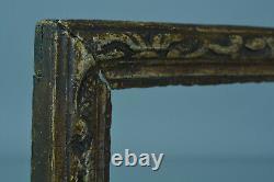 Beau Cadre Tableau en bois sculpté Décor Bérain 18 ème antique Frame Cornice