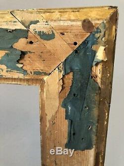 Beau Cadre à clés Epoque LOUIS XVI Bois sculpté et stucs dorés fin XVIIIe FRAME