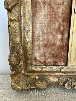 Beau Christ Ecclésiastique Louis XIV Cadre en bois doré sculpté Epoque XVIIIème