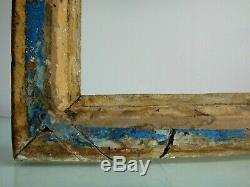 Beau cadre à clé en bois doré 67cm x 54cm Antique frame wooden golden XVIIIème