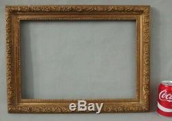 Beau cadre ancien en bois doré 19ème antique gilt wood frame 19th C