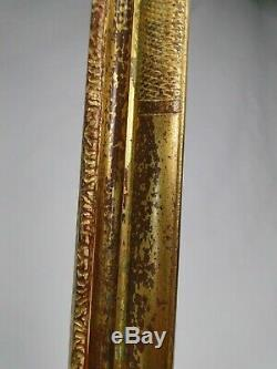Beau cadre doré de style Régence XXè baguette bois doré pour gravure ou tableau