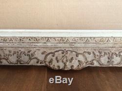 CADRE ANCIEN BOIS sculpté format standard M8 milieu XX MONTPARNASSE STYLE LXV
