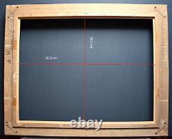CADRE ANNEES 1930 1950 MONTPARNASSE 65 x 50 cm 15P FRAME Ref C905