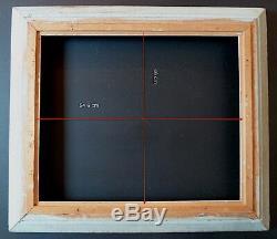 CADRE ANNEES 1940 1950 MONTPARNASSE 54 x 46 cm proche de 10F FRAME Ref C636