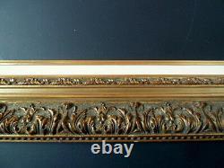 CADRE ANNEES 1960 1970 DORÉ 65 x 50 cm 15P FRAME Ref C452