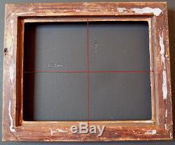 CADRE ITALIE XVIII XIX ème 25 x 20 cm très proche de 2F FRAME Ref C678