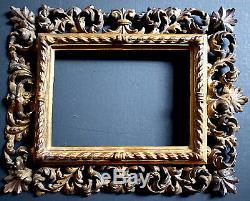 CADRE ITALIEN DORÉ XIX 19th 14 x 10 cm FRAME Ref C805