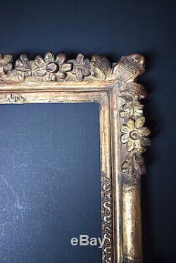 CADRE Provençal Bois Doré XVIII ème 48 x 38 cm FRAME 18th Ref C799