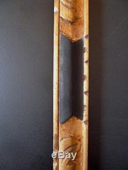 CADRE XIX DORÉ NOIR PROFIL INVERSÉ 65 x 54 cm 15F FRAME Ref C560