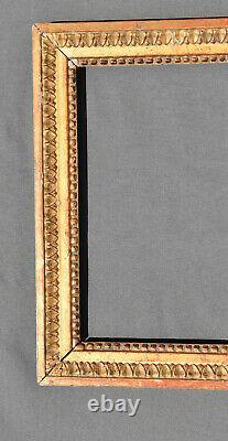 CADRE bois sculpté / stuck et doré STYLE LOUIS XVI 19 EME