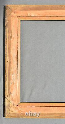 CADRE bois sculpté / stuck et doré / noirci STYLE ITALIEN DU 17 EME