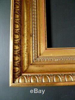 CADRE style XIX DORÉ 26 x 21 cm proche de 3F FRAME Ref C470