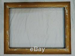 Cadre 20P montparnasse doré feuillure 73 cm x 54 cm frame photo peinture tableau