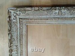Cadre 6F montparnasse patine doré feuillure 41 cm x 33 format frame tableau