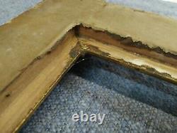 Cadre 8F style louis XVI bois doré feuillure 46 cm x 38 cm frame gravure tableau