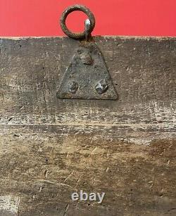 Cadre Ancien Xviiiéme Tabernacle, Doré Et Laqué