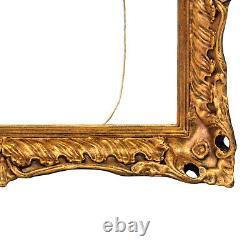 Cadre Ancien de 1880-1900 en bois Feuillure 41 x 31 cm