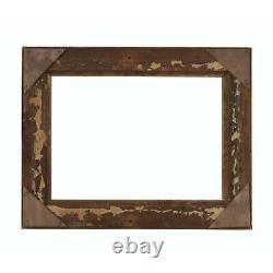 Cadre Ancien de 1900 en bois doré Dorure ancienne Feuillure 33,5x24,5