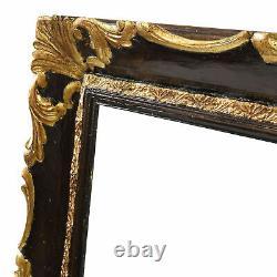 Cadre Ancien de 1900 en bois doré Feuillure 72x58 cm Peinture