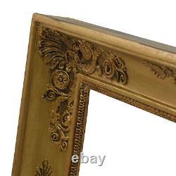 Cadre Ancien en bois orné du XIXème siècle 52,5x44 cm à l'intérieur