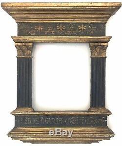 Cadre Antique, Bois Dorè, Laquè Xviiième