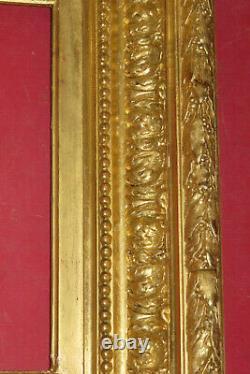 Cadre Barbizon époque 19ème, En Bois Doré