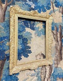 Cadre En Bois Doré Dépoque Régence XVIIIème Siècle