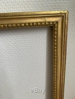 Cadre Époque Louis XVI 18 Eme Feuillure 49 / 39 Cm
