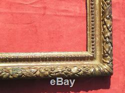 Cadre Frame Cornice Louis XIII XVIIe 17th bois doré carved gilt wood