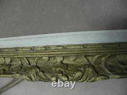 Cadre MONTPARNASSE monté à clefs 52 sur 74 ou 48 sur 70 cm old Framed