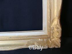 Cadre Montparnasse doré en bois style Louis 15