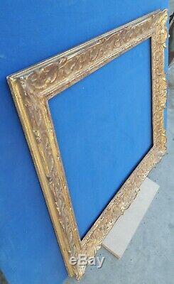 Cadre Montparnasse doré pour format 12F, 61x50cm
