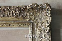 Cadre Montparnasse style ancien 53cm x 46cm Bois Stuc sculpté et doré