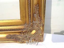 Cadre Style Louis XV avec Marie Louise ext 69,5 X 79,5 ff 65,5 X 55,5 cm